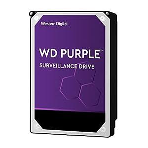 """WD Purple 10TB Surveillance Hard Drive - 7200 RPM Class, SATA 6 Gb/s, 256 MB Cache, 3.5"""" - WD102PURZ 41p33p5RbZL. SS300"""