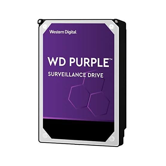 """WD Purple 8TB Surveillance Internal Hard Drive - 7200 RPM Class, SATA 6 GB/S, 256 MB Cache, 3.5"""" - WD82PURZ 41p33p5RbZL. SS555"""