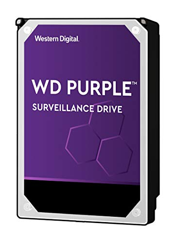 WD Purple 8TB Surveillance Internal Hard Drive - 7200 RPM Class, SATA 6 GB/S, 256 MB Cache, 3.5