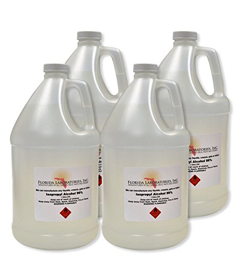 Isopropyl Alcohol Grade 99% Anhydrous - 4 Gallon ()