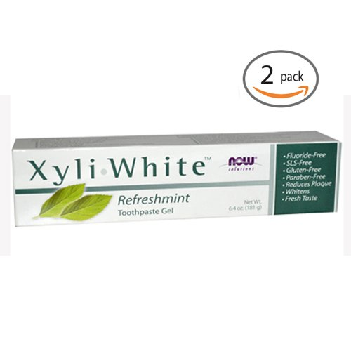 Now Foods: Xyliwhite Refreshmint Toothpaste Gel, 6.4 oz 2 pack