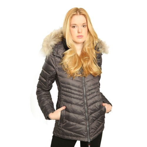 Pajar-Womens-CHARLOTTE-Down-Parka-hybrid-packable-jacket-quilting-detail