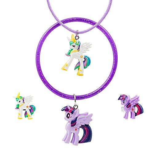 AME Jewelers My Little Pony Girls' Celestia and Twilight Sparkle Set]()