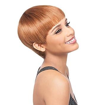 Amazon Com Outre Premium Duby Human Hair Wig Bowl Cut 1b Beauty