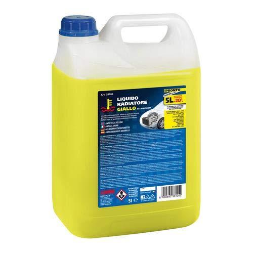 LAMPA 38105 Liquido Radiatore Giallo 5 Lt Pronto (-20 C) Tanica