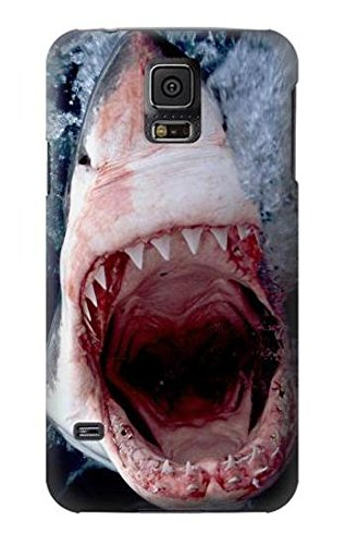 R1341 Jaws Shark Mouth Case Cover For Samsung Galaxy S5 (Galaxy S5 Case Jaws)