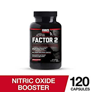 Amazon.com: Factor 2 Nitric Oxide Booster, Pre-Workout L