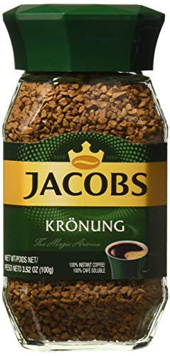 Jacobs Kronung Instant Coffee (3.5 oz / 100 g)