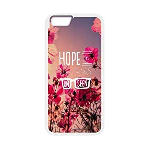 iPhone 6 Plus 5.5 Inch Cell Phone Case White quotes parallax hope things unseen Znjka