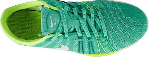 Nike Vrouwen Vrije Tr 6 Sportschoenen Turquoise Geel 833.413 300