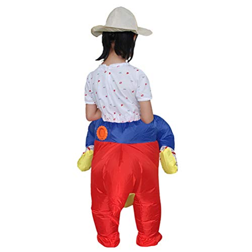 Red Costume Toddlers YeahiBaby Riding Inflatable Dinosaur Children Cosplay Dress Halloween Kids for Toy Fancy ngpOCqw1