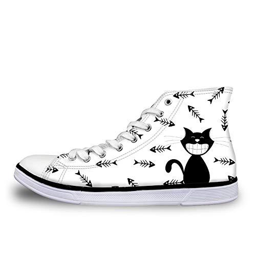 amp; Cat Sneaker White Donna Nopersonality q7Rtfwt