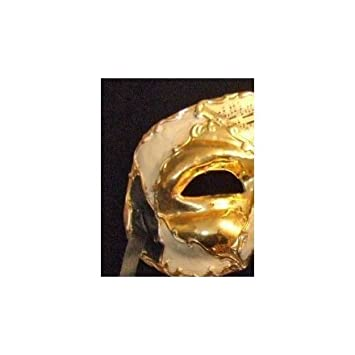 Halloween Costume 398.Amazon Com Venetian Stallion Black Gold Mask Mardi Masquerade