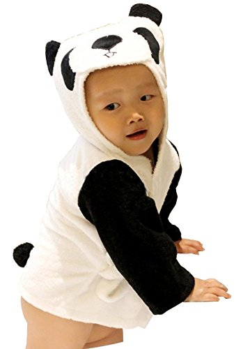 AmaranTeen - Cartoon Cute Animal Bath Wrap Hooded Bathrobe Towel BB-057 (Bb&bg Halloween)