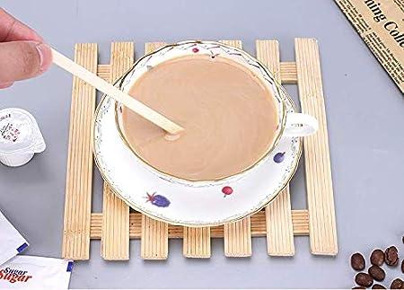 7.5 Inch Premium Quality Disposable Coffee Stir Sticks Wooden Stir /& Cold Beverage Stirrers Kitchen Accessory 500pcs