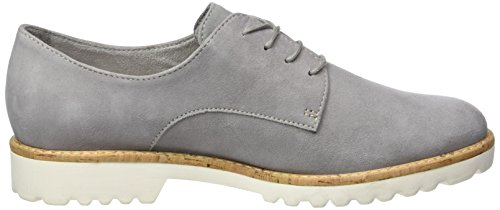 Cloud Tamaris Femme Oxfords 227 Gris 23208 TUzxRBUw
