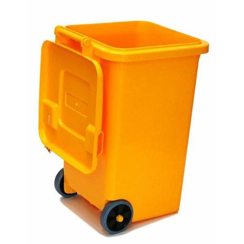 【DULTON】PLASTIC TRASH CAN 65L (YELLOW)/ 【ダルトン】 プラスチック トラッシュ カン 65L (イエロー) B003JL3QSU イエロー イエロー