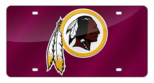 NFL Washington Redskins Laser Cut Auto Tag ()