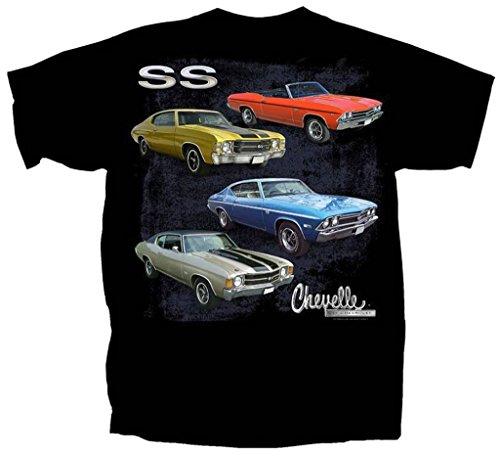 Joe Blow Gildan Men's Chevrolet SS Chevelles T-Shirt, X-Large, Black