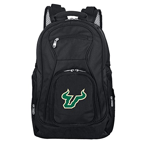 Denco NCAA South Florida Bulls Voyager Laptop Backpack, 19-inches, Black