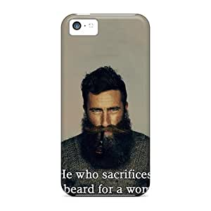 5c Scratch-proof Protection Case Cover For Iphone/ Hot He Who Sacrifices His Beard For A Woman Deserves Neither Phone Case