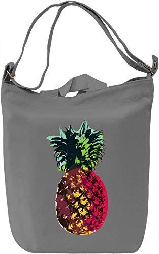 Fresh Pineapple Borsa Giornaliera Canvas Canvas Day Bag| 100% Premium Cotton Canvas| DTG Printing|