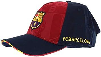 GORRA FC BARCELONA OFICIAL SOCCER BLAUGRANA ADULTO: Amazon.es ...