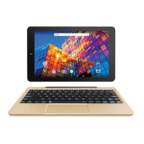 RCA 10 Inch Android Tablet with WiFi, Bluetooth (16G, Gold) (Renewed)