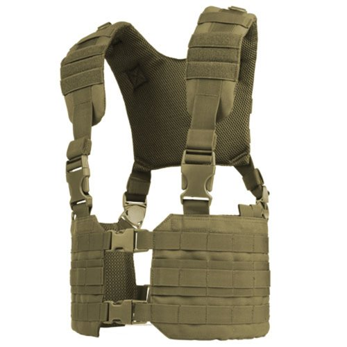Condor Outdoor MCR7 Ronin Tactical MOLLE Split Chest Rig - T