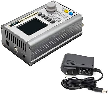 JDS2900-50MHz Digital Control Dual-Channel DDS Function Signal Generator Meter Silver
