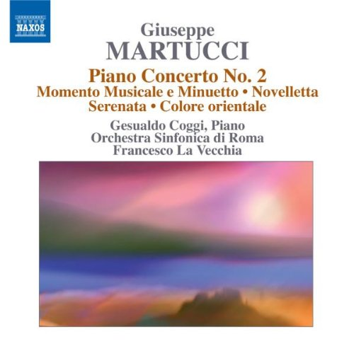 Martucci: Orchestral Music - Piano, Vol. 4 from Naxos