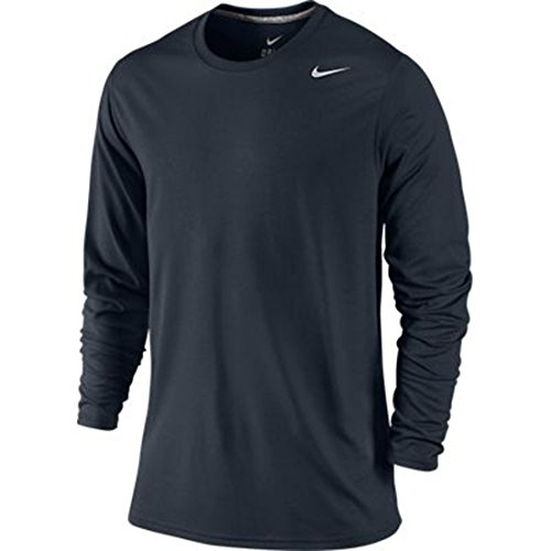 Nike Mens Legend Long Sleeve Tee Dark Obsidian