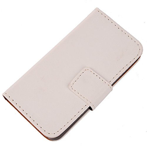 """Price comparison product image Gukas Color Design PU Wallet Flip Leather with Card Slots Cover Skin Protection Case Shell For 2016 Samsung GALAXY J5 SM-J510 5.2"""" (White)"""