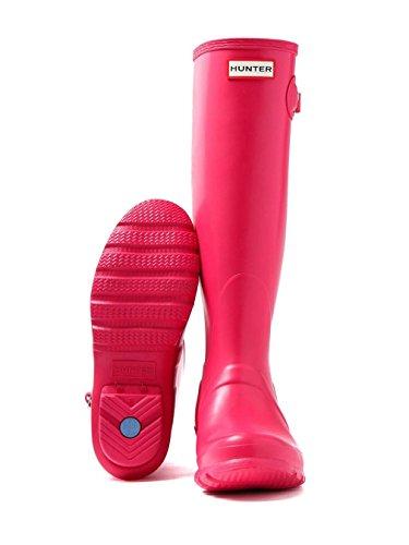 Hunter Damen Original Tall Regenstiefel Leuchtend rosa
