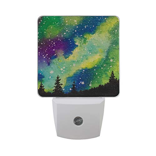 OuLian Night Light Starry Forest Led Light Lamp for Hallway, Kitchen, Bathroom, Bedroom, Stairs, DaylightWhite, Bedroom, Compact