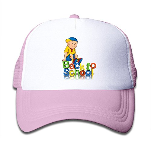 boy-caillou-adjustable-snapback-trucker-hat-pink-one-size