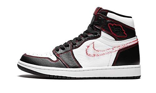 Jordan Air 1 High Og (White/Black-Gym Red/Tour Yello 14) (Air Jordan 1 High White Black Gym Red)