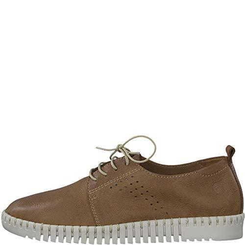 Tamaris 23622 1 Deportivo 22 Cognac Calzado Cordones zapato Mujer 1 Con 6r6xwpFqB