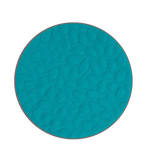 Nook Sleep Lily Pad Playmat, Peacock by Nook Sleep Systems