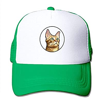 Soft Kitty Sports Snapback Stylish Baseball Cap Mesh Trucker Hat from cxms