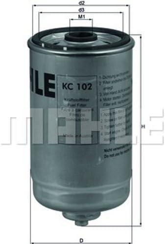 Knecht KC102 Filtre /à carburant