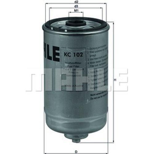 Mahle Knecht KC 102 Kraftstofffilter