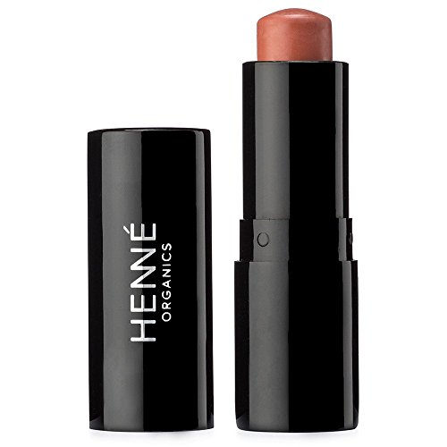 Henné Organics Luxury Lip Tint - All Natural Moisturizing - Sheer Stain With Buildable Color - BARE