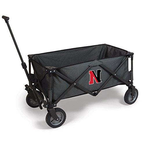 NCAA Northeastern Huskies Adventure Digital Print Wagon, One Size, Dark Grey/Black by PICNIC TIME