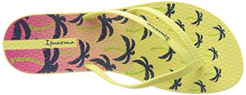 Ipanema Damen Bossa Print Fem Zehentrenner Jaune (Yellow/ Yellow)