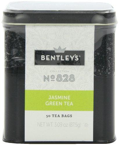 Bentley's Harmony Collection Tin, Jasmine Green Tea, 50 - Bentley Green Tea Collection