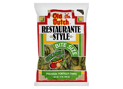 Old Dutch Restaurante Guacamole Tortilla Strips 13oz, pack of 1