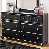 Ashley Furniture Signature Design - Jaidyn Dresser - 6 Drawer -Black