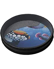 Yibuy Wave Bead Ocean Drum Percussion Instrument 10 inch