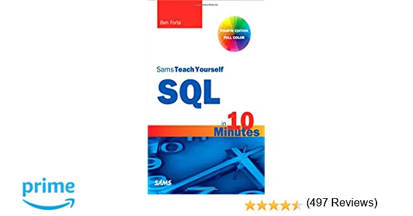 Amazon ben forta books biography blog audiobooks kindle sql in 10 minutes sams teach yourself 4th edition fandeluxe Image collections